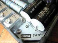 Audiofil kondenzátor és karbon ellenállás