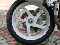 Hófehér Marchesini hátsó kerék