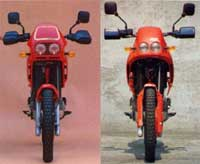 A régebbi és az újabb Rc600