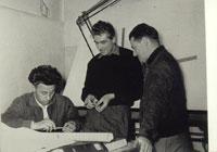 Cesare Carcano, Enrico Cantoni és Umberto Todero